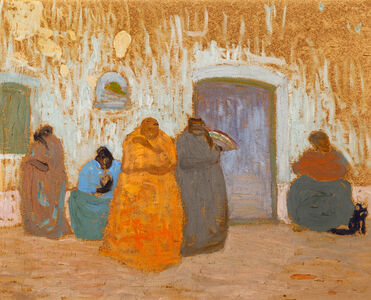 "Pedro Figari, '""Negras""', 1925"