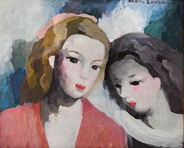 Marie Laurencin, 'Lesbian Friends, Deux Femmes', ca. 1930