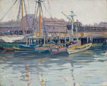 Jane Peterson, 'Fishing Boats at Gloucester', 19th -20th Century