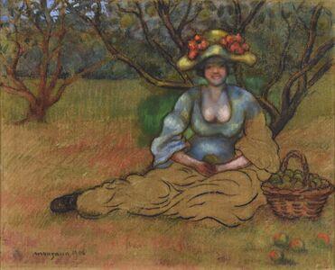 Georges Manzana-Pissarro, 'Récolte des Pommes', 1906