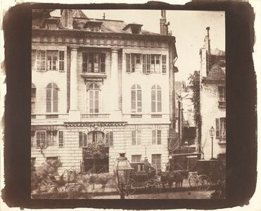 William Henry Fox Talbot, 'The Boulevards of Paris', 1843