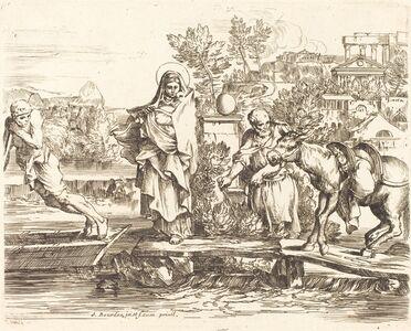 Sébastien Bourdon, 'The Holy Family Preparing to Embark'