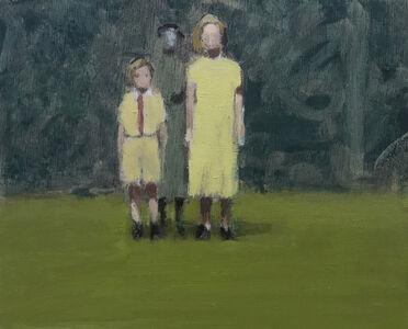 David Storey, 'Figures on a Lawn', 2019