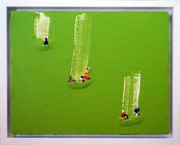 Qin Fengling, 'Sliding-15,3,10', 2015