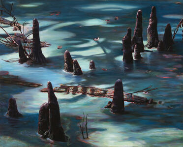 Adrian Deckbar, 'Cypress Knees in Moonlight', 2007
