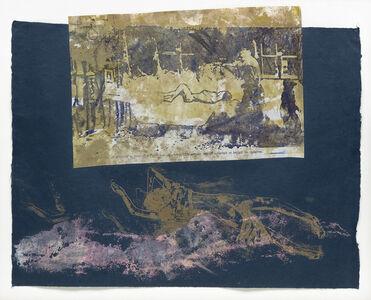 Nancy Spero, 'Untitled (Cimetière de Varsovie à l'extérieur du ghetto)'