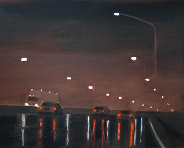 Yanik Wagner, 'BQE Rain', 2019