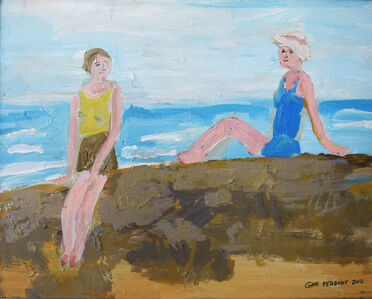 Gary Peabody, 'Woman on Rock', 2012