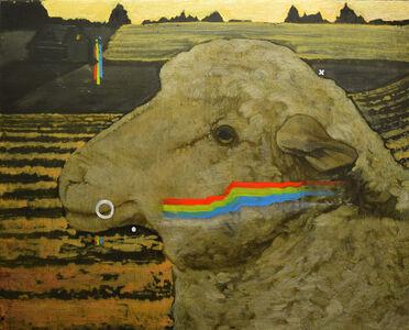 Rae Klein, 'Wheat Field with Sheep', 2019