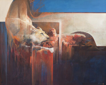 Mel Brigg, 'Lioness on Kill', 2017