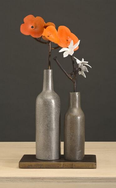 David Kimball Anderson, 'Poppies and Columbine', 2011
