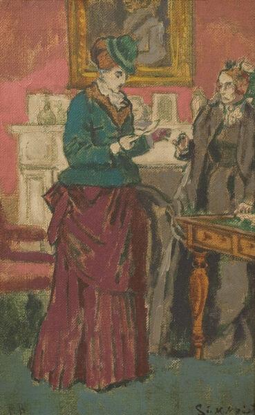 Walter Richard Sickert, 'The Proposal [After Robert Barnes]', 1931