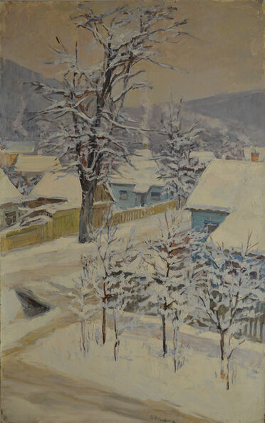 Nadezhda Eliseevna Chernikova, 'Winter day', 1975