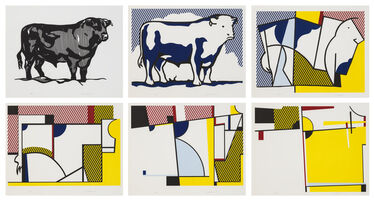 Roy Lichtenstein, 'Bull Profile Series', 1973