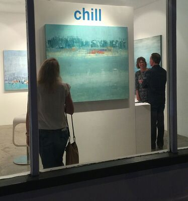 chill, installation view