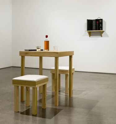 MK Guth: Shout, Recount, Get Drunk, installation view