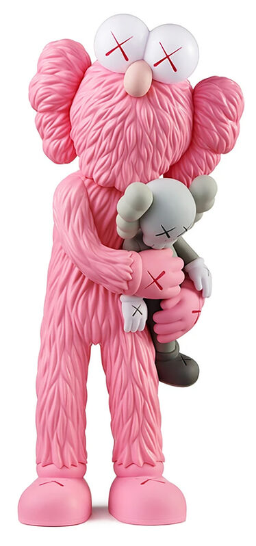 KAWS, 'KAWS TAKE Pink', 2020, Sculpture, Painted Vinyl Cast Resin figure, Lot 180