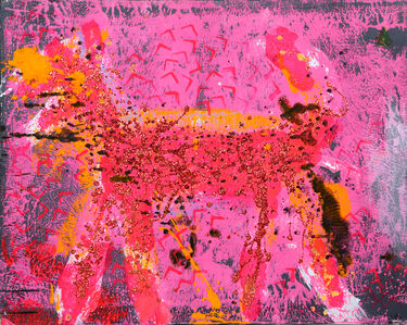 Peter Mayer, 'Dog Painting 1', 1990