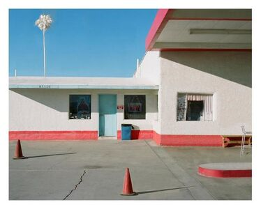 George Byrne, 'Gas Station, Route 66', 2018