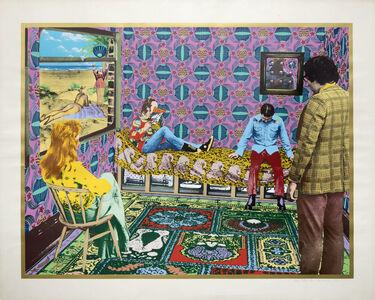 Tim Mara, 'Alan's Room ', 1974