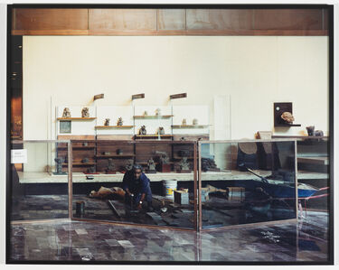Sharon Lockhart, 'Enrique Nava Enedina: Oaxacan Exhibit Hall, National Museum of Anthropology, Mexico City', 1999