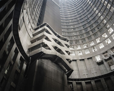 Mikhael Subotzky, 'Core Staircase, Ponte City', 2008