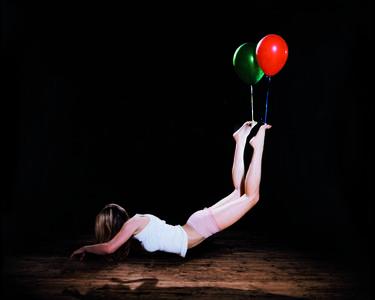 "Sam Taylor-Johnson, 'Escape Artist (Green and Red), From the ""Escape Artist (Multicoloured)"" series', 2008"