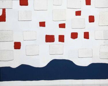 Giancarlo Bargoni, 'Constructio n.6 with 3 plots', 1962