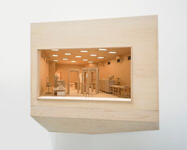 Roxy Paine, 'Maquette for Checkpoint', 2013
