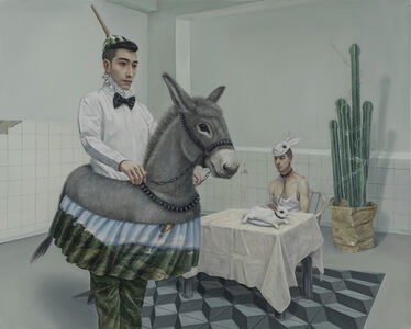 Lv Yanxiang, 'Eating Out', 2014
