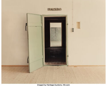 Andrea Robbins & Max Becher, 'Doorway to Gaschamber (Dachau)', 1994
