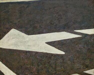 Roger Edward Kuntz, 'Pavement Arrow', 1962