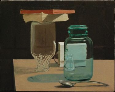 Ron Schwerin, 'Jars and Books'