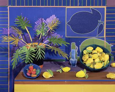 Daniel Gordon, 'Still Life with Bowl of Lemons', 2018