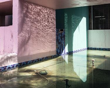 Anastasia Samoylova, 'Façade in South Beach (Fountain)', 2017