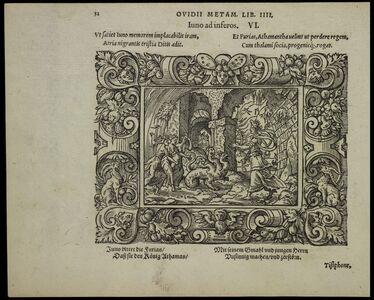 Virgil Solis, 'Iuno ad inferos', 1563