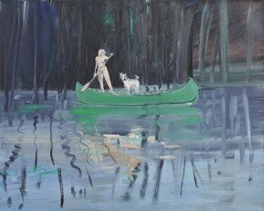 Deborah Brown, 'Canoeist 7', 2019