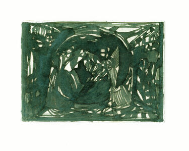 Adolf Hoelzel, 'Abstrakte Komposition', 1914-1916