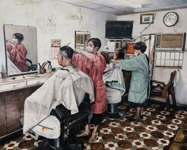 Shih Yung Chun, 'Hair Salon', 2019