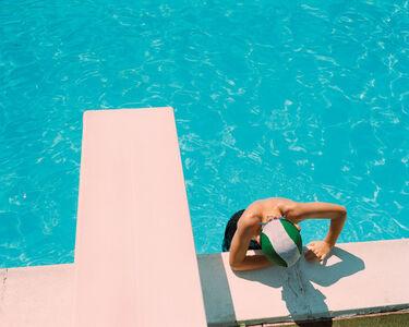 Benjamin Rasmussen, 'Noah Swimming, Molise, Italy'