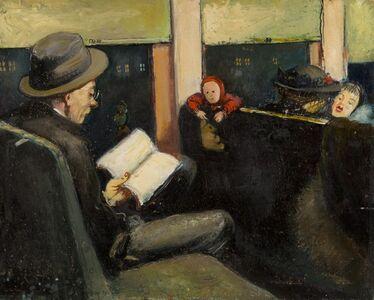 Ture Bengtz, 'On the Train', ca. 1945
