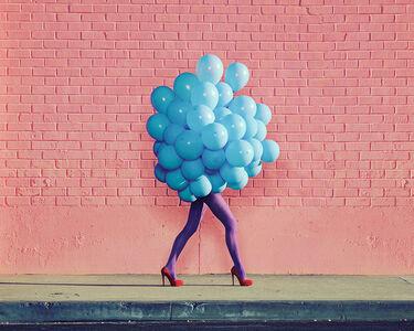 Ramona Rosales, 'Je Ne Suis Pas Seul Sans Toi (Blue Balloons)', 2013