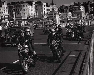 George Rodger, 'Rockers, Easter Weekend, Brighton, UK', 1964