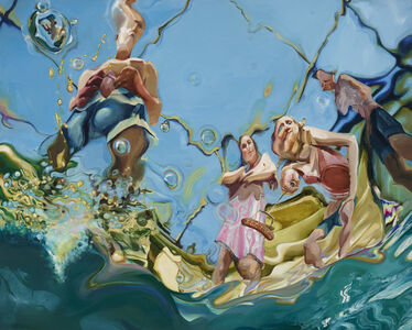 Margaret Curtis, 'Trail by Water: Pool Party', 2016