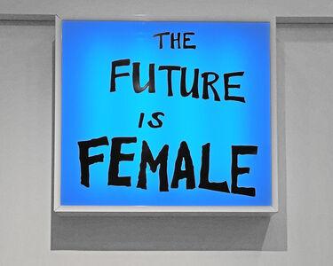 Sam Durant, 'The Future Is Female', 2018