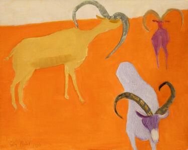 Sally Michel, 'Untitled [Ibex]', 1970
