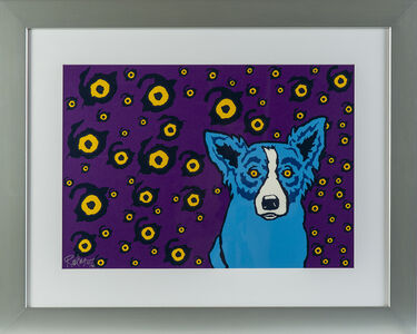 George Rodrigue, 'I see you, you seem me Signed Silkscreen Contemporary Art', 2000-2012