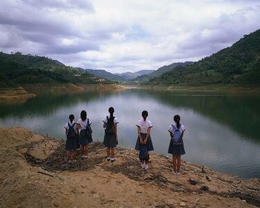 Weng Fen, 'Staring at the Lake No.1', 2004