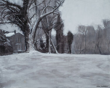 John Morrell, 'Potomac Snow', 2015