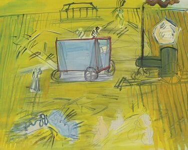 Raoul Dufy, 'Dépiquages', ca. 1948